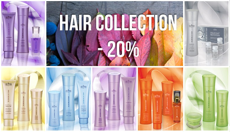 hair collection in super promo!