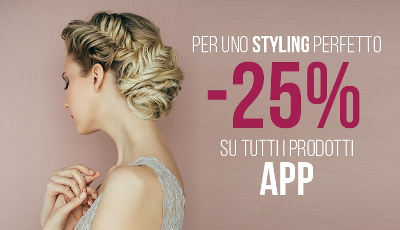 APP styling & finish | tutto a - 25%