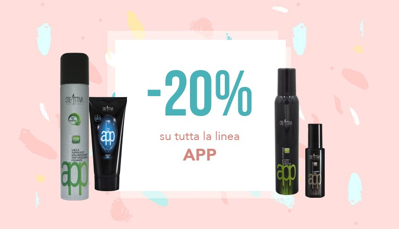 Sconto 20% su styling & finish WOW!