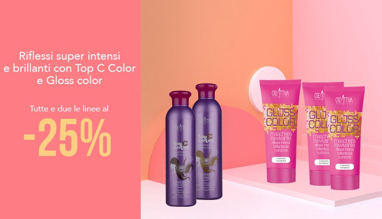 Top C Color e Gloss Color | tutto a - 25%